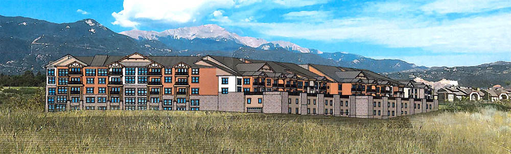A Conceptual Rendering Looking Northwest Shows How The Proposed Sentinel  Ridge Senior Living Complex Could Look When Itu0027s Built Out.