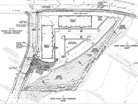 Apartment complex plan on Mesa seeks big hike in density ...