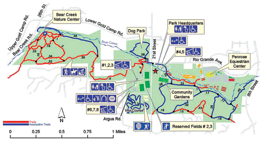 Bear Creek Dog Park Map